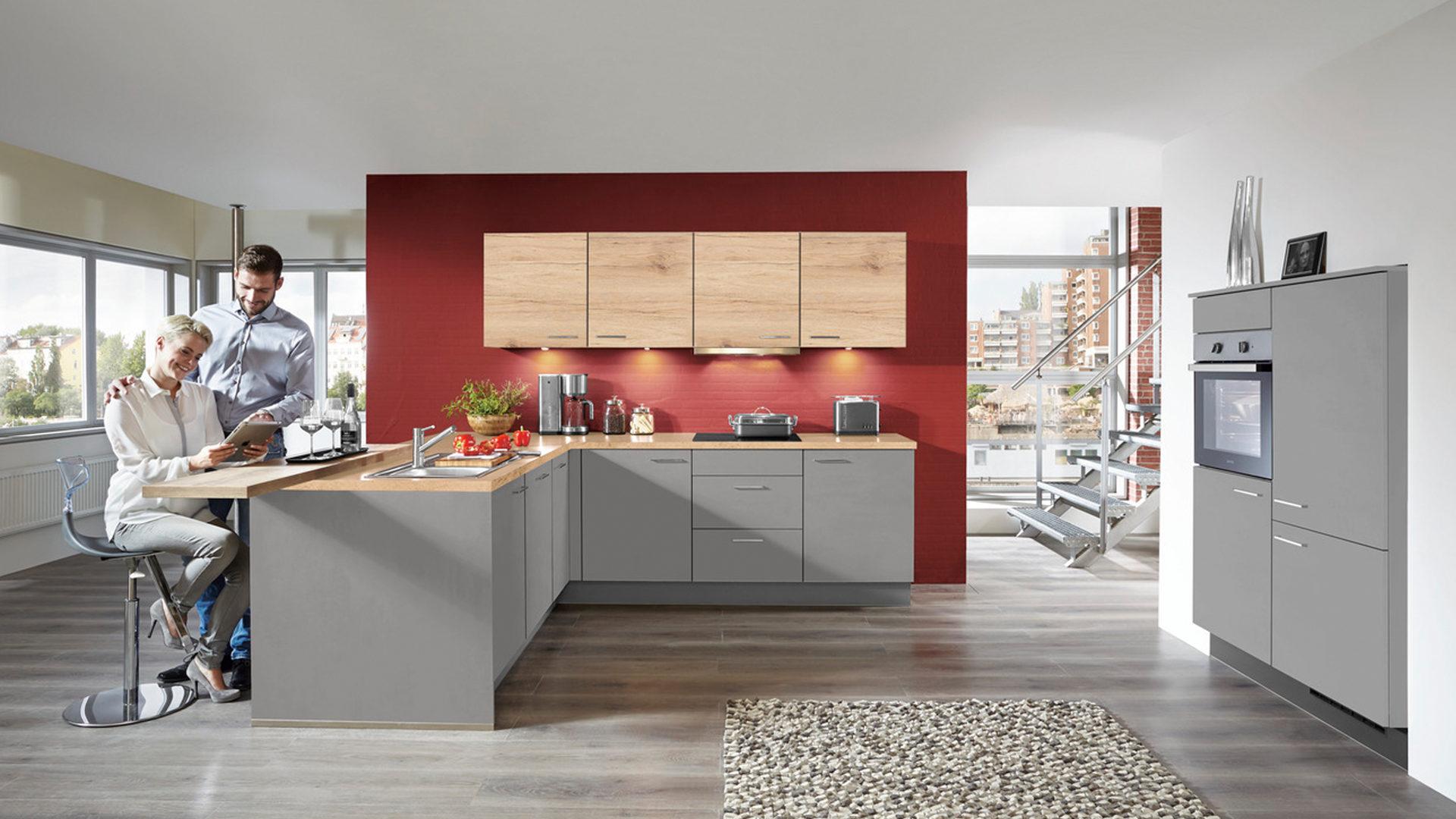 Groß Farbkombination Von Küchenschränken Fotos - Küche Set Ideen ...