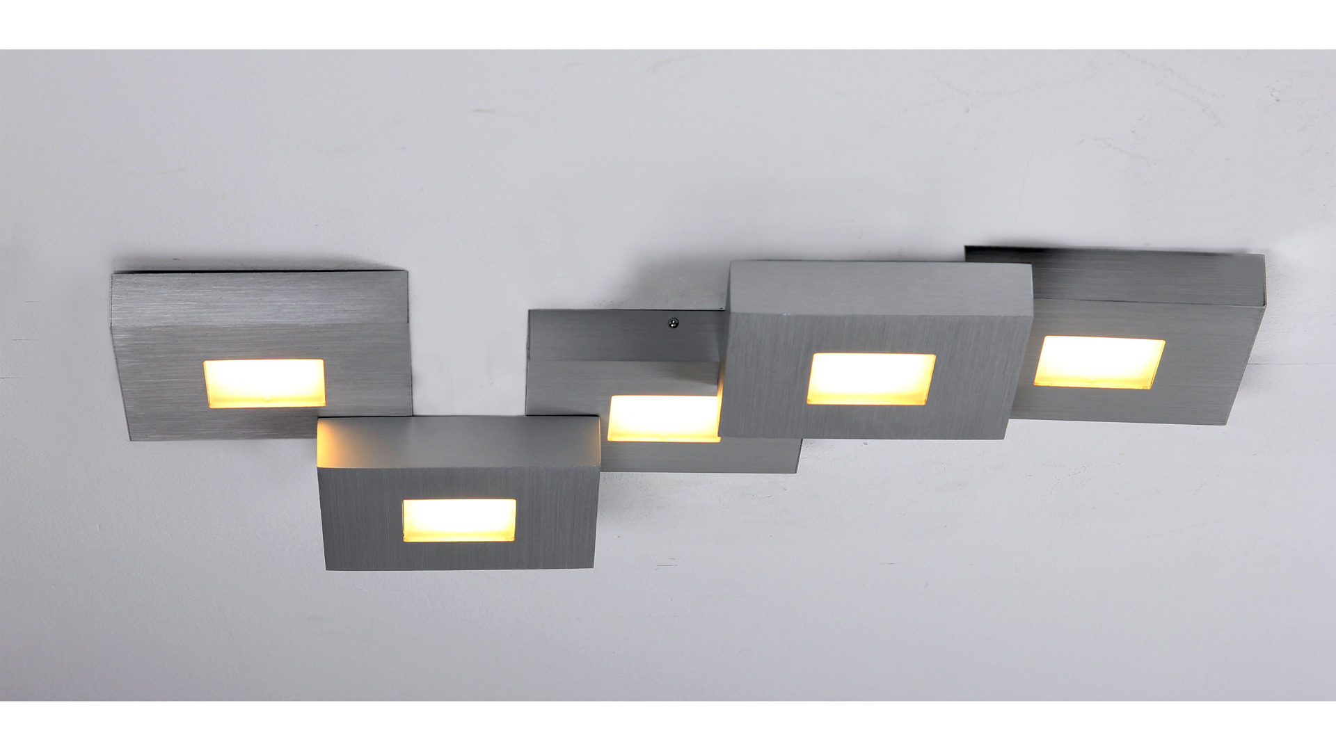 mbel frauendorfer amberg rume wohnzimmer lampen leuchten bopp led deckenleuchte cubus in alufarben aluminium lnge ca - Deckenleuchten Wohnzimmer Landhausstil