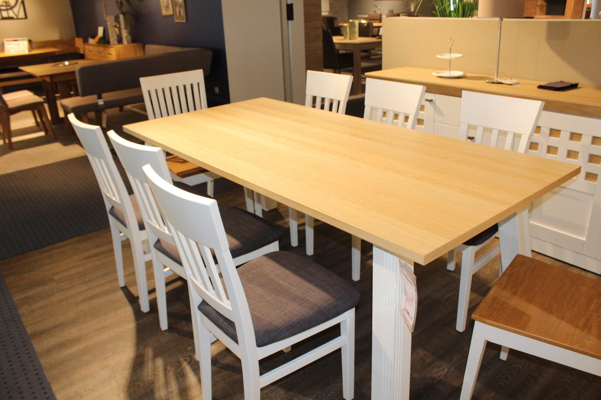 Möbel Frauendorfer Amberg Abverkauf Speisen Tischgruppe Esstisch
